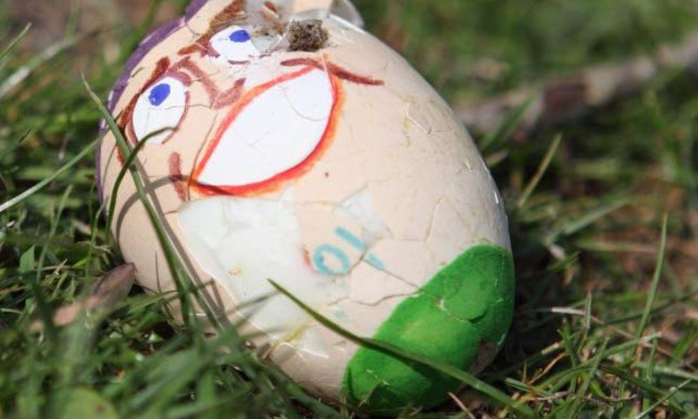 Loughor's Annual Egg Rolling Event