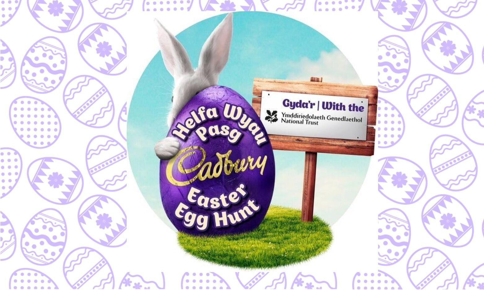 Cadbury Easter Egg Hunt at Aberdulais Tin Works and Waterfall