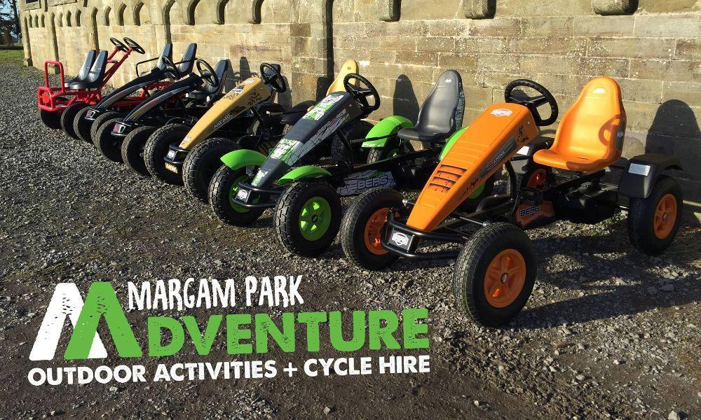 Pedal Go Kart Hire with Margam Park Adventure!