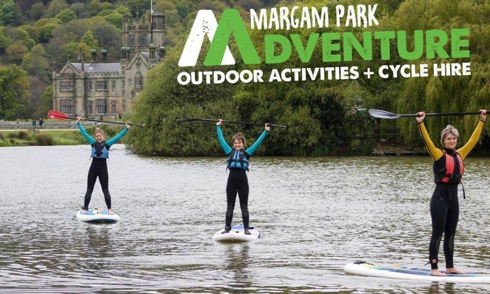 Try Stand Up Paddle Boarding at Margam Country Park