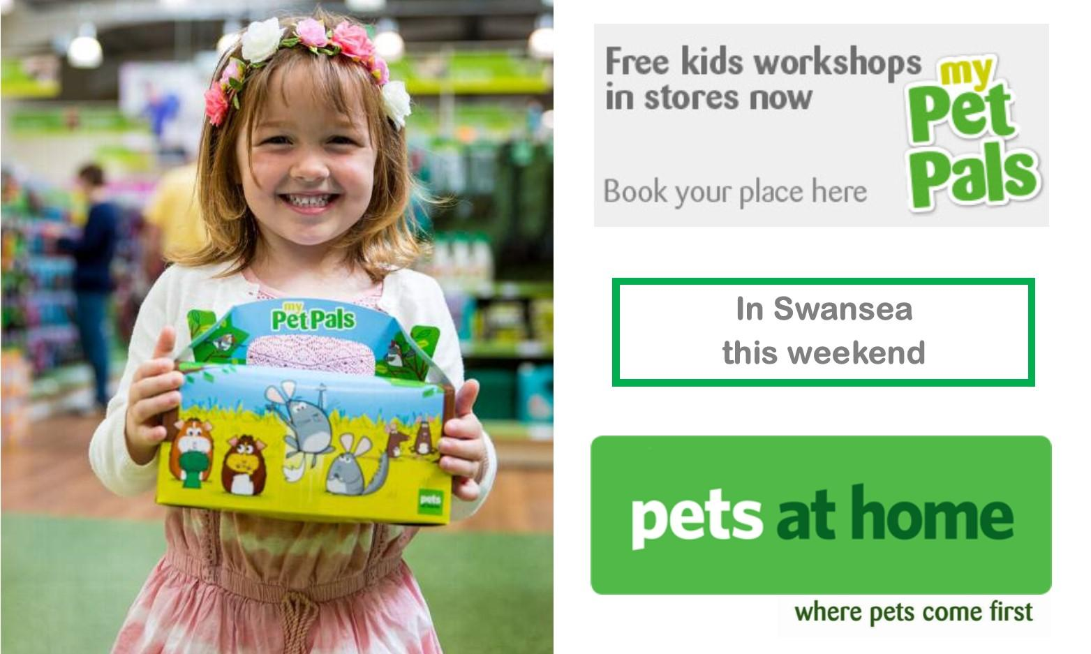 Small Furries workshop at Pets at Home Swansea Fforestfach Store