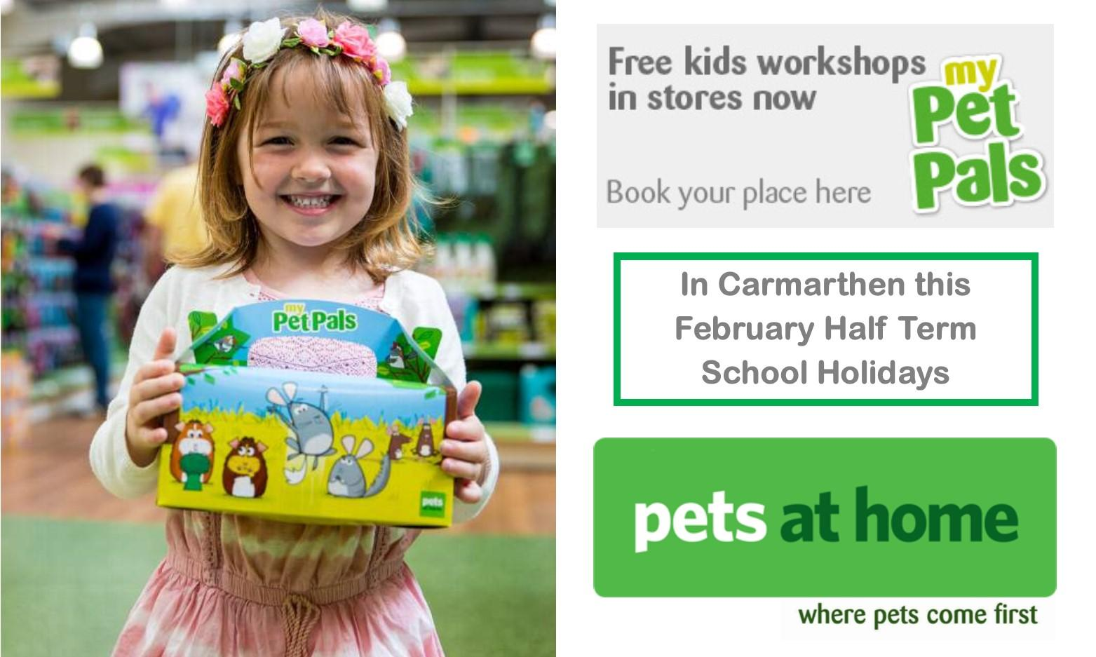 Super Small Furries Pets at Home Workshop in Carmarthen