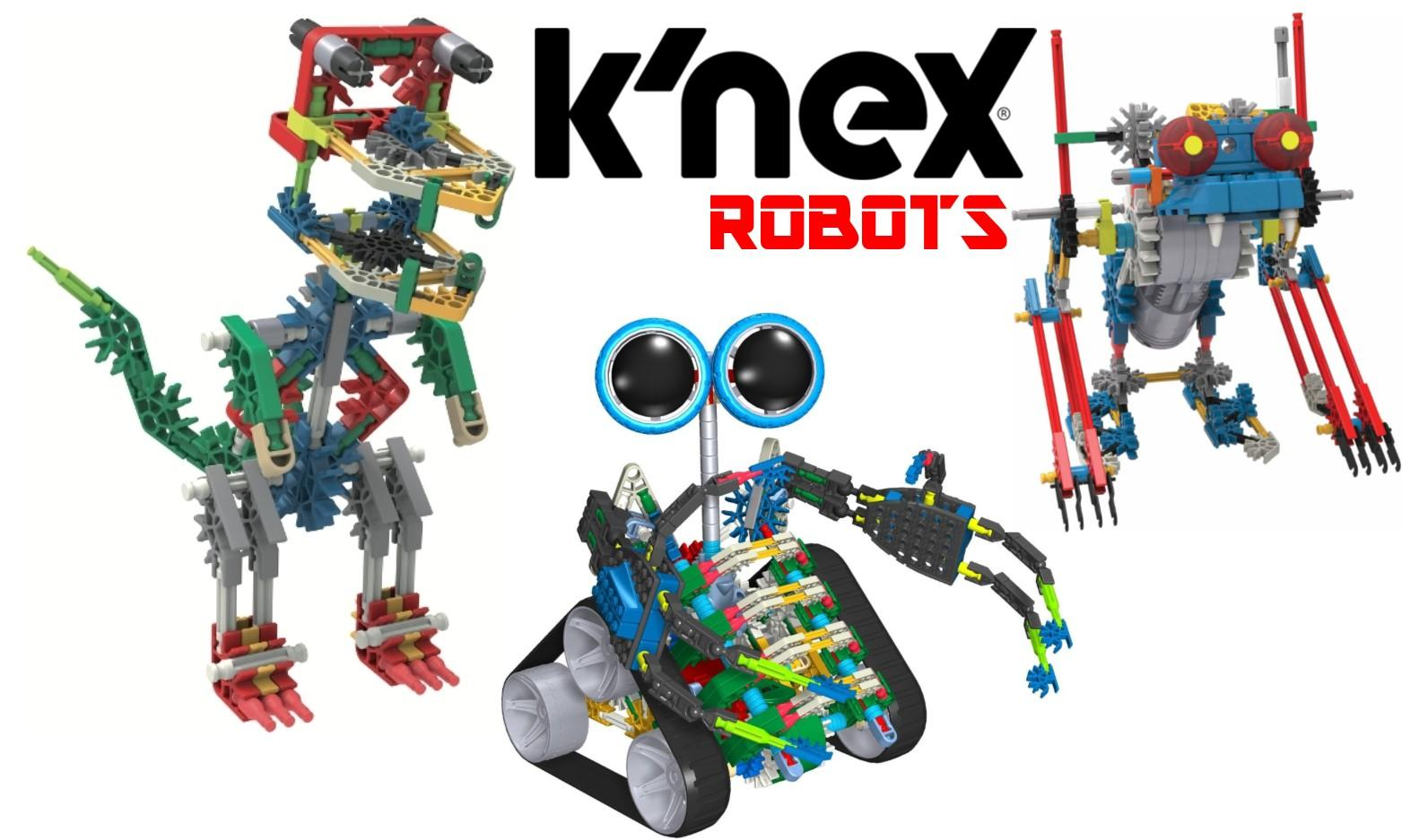 K'NEX Robots at National Waterfront Museum