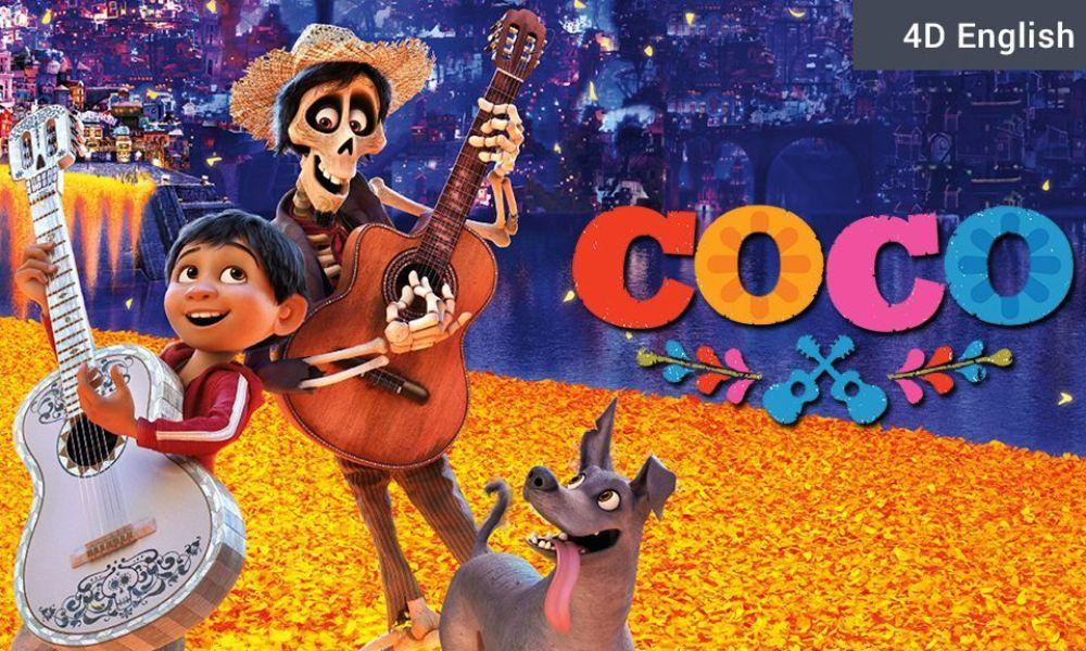 Special Offer on Family Tickets COCO at Cinema and Co