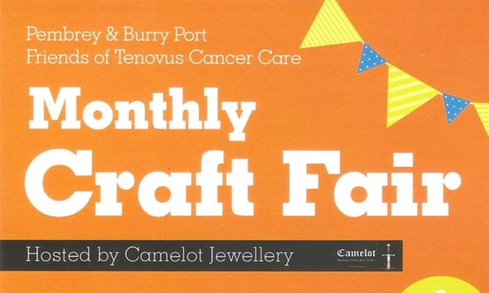 Whats on in Carmarthenshire Llanelli Monthly Craft Fair