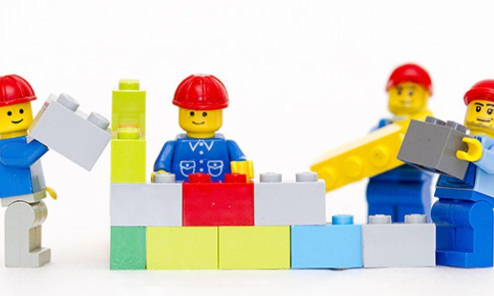 Baglan Half Term Club with LEGO
