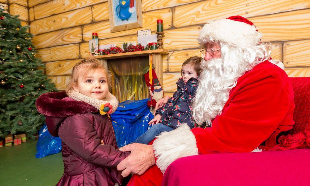 Meet Santa and his Reindeer at Folly Farm