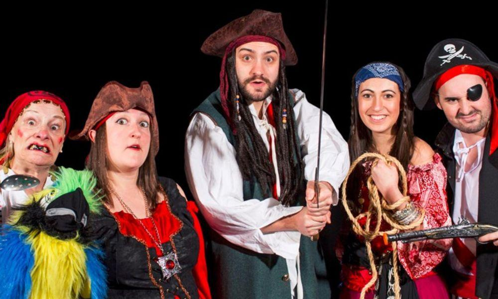Pirate Fun Days Theatre Show and Treasure Trails at Folly Fam