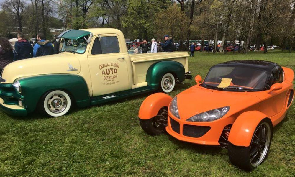 Classic Car Show and Family Fun Day at Singleton Park, Swansea