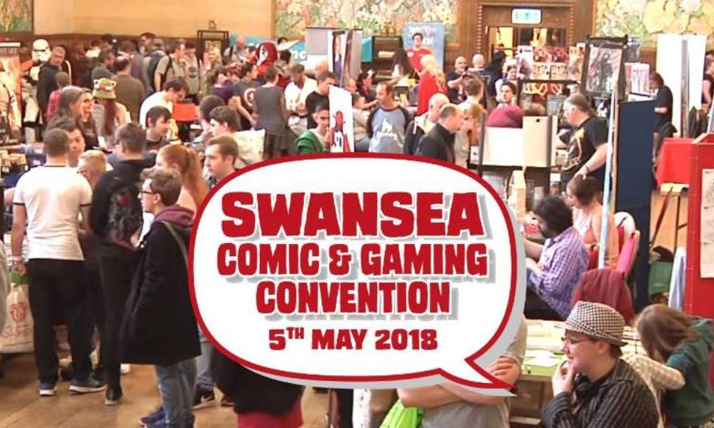 Swansea Comic and Gaming Convention 2018
