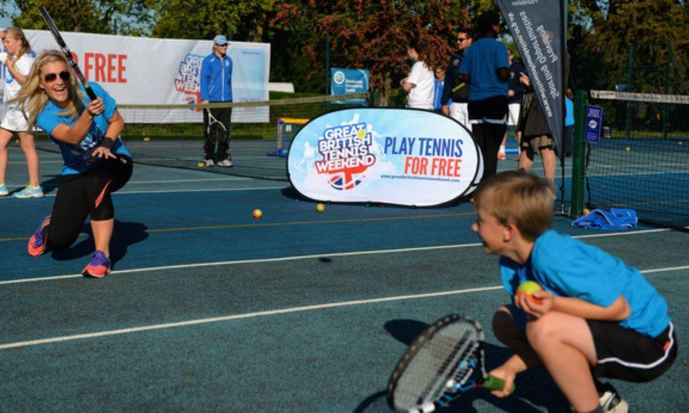 Great British Tennis Weekend Event in Neath