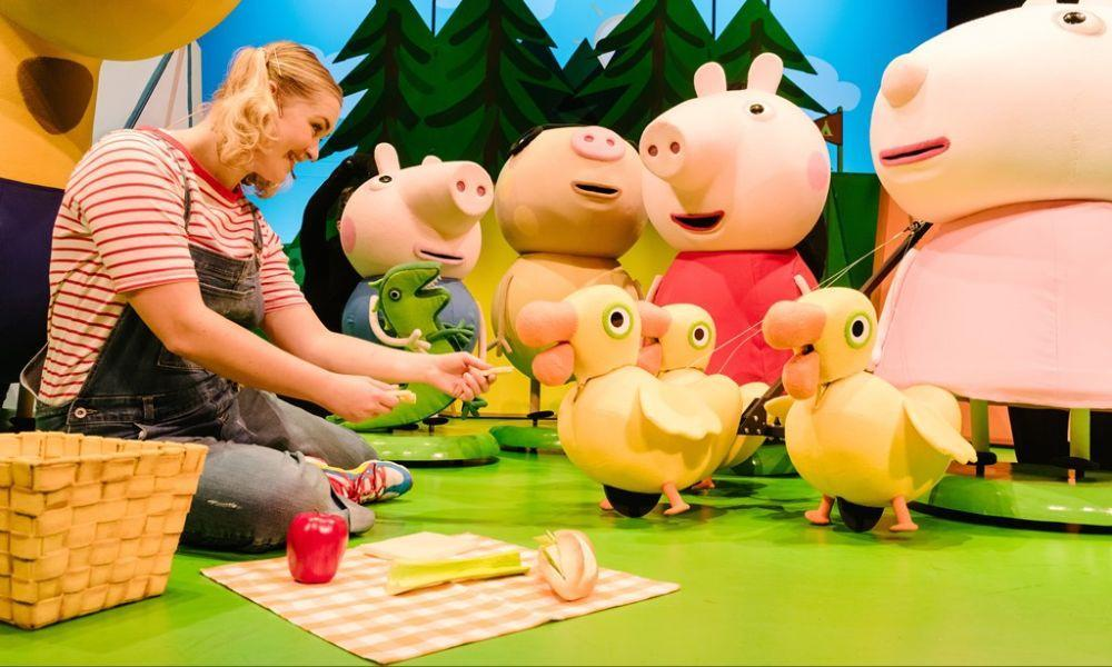 Peppa Pig's Adventure in Swansea