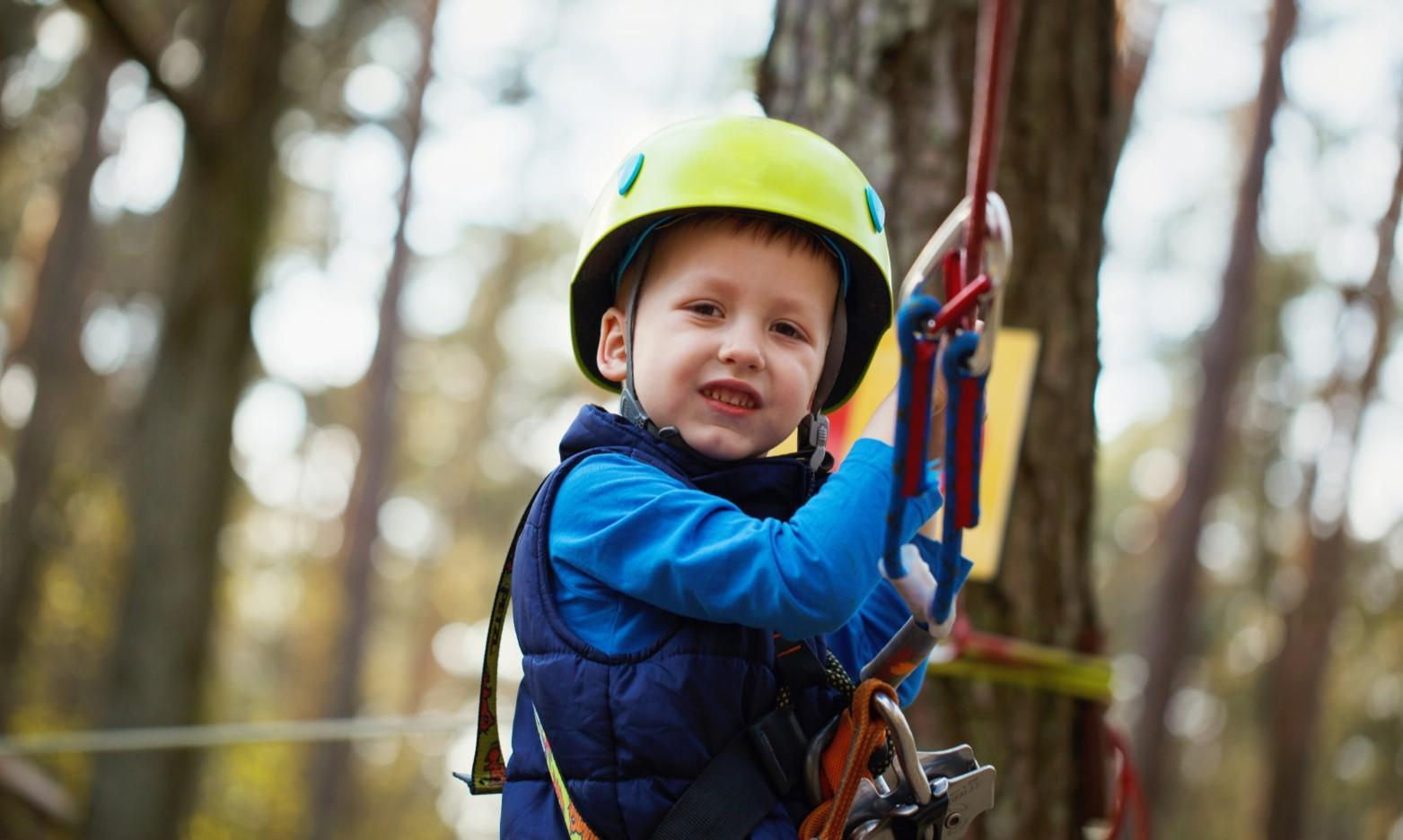 Treetop Adventure Climbing Sessions at Colby