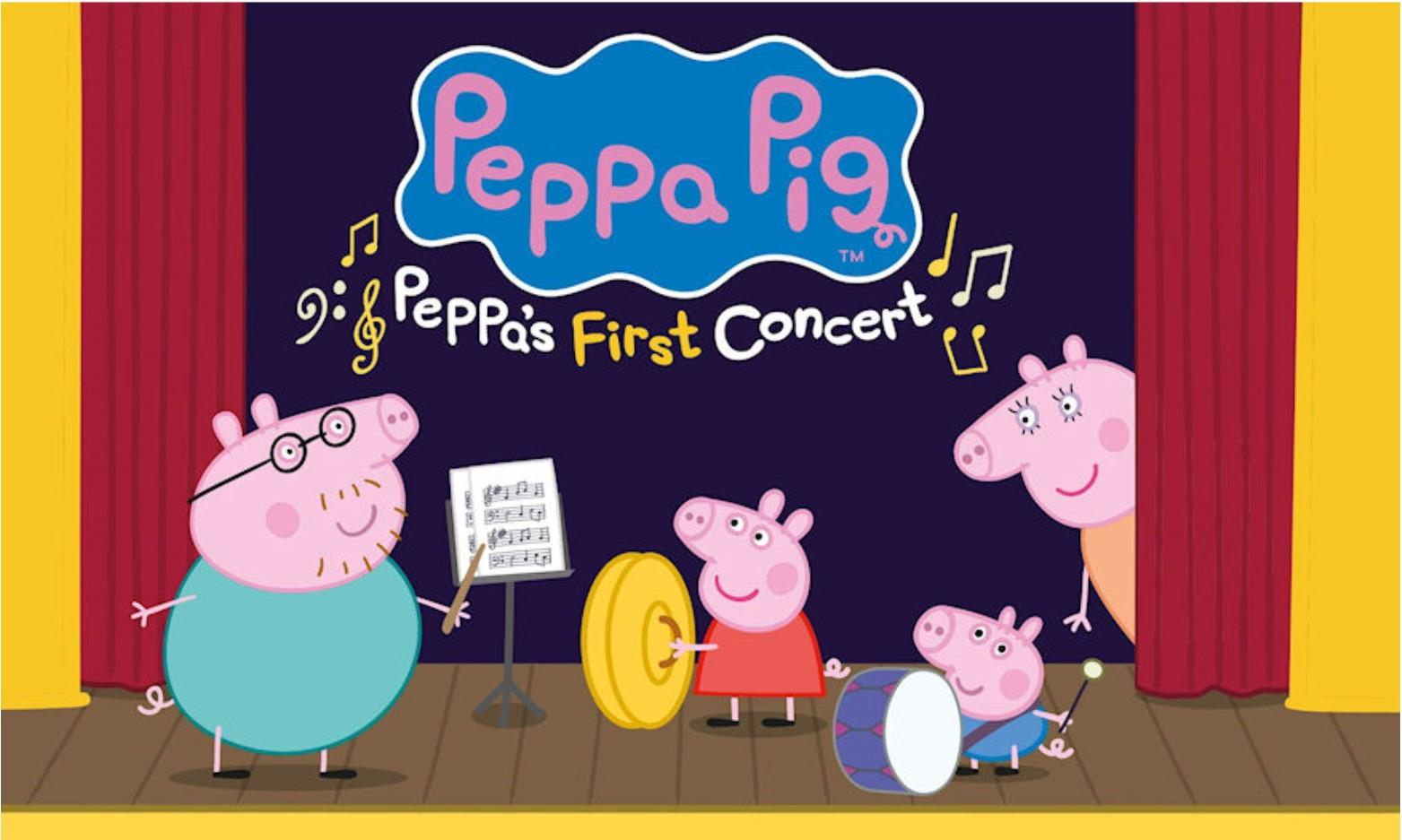 WHATS ON IN CARDIFF Peppa Pig My First Concert at St Davids Hall