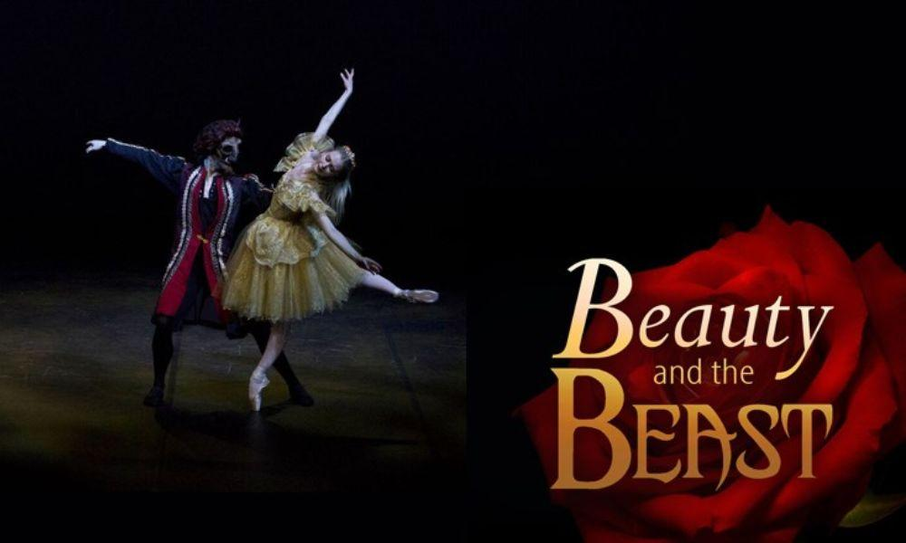 Beauty and the Beast Ballet at Ffwrnes Theatre
