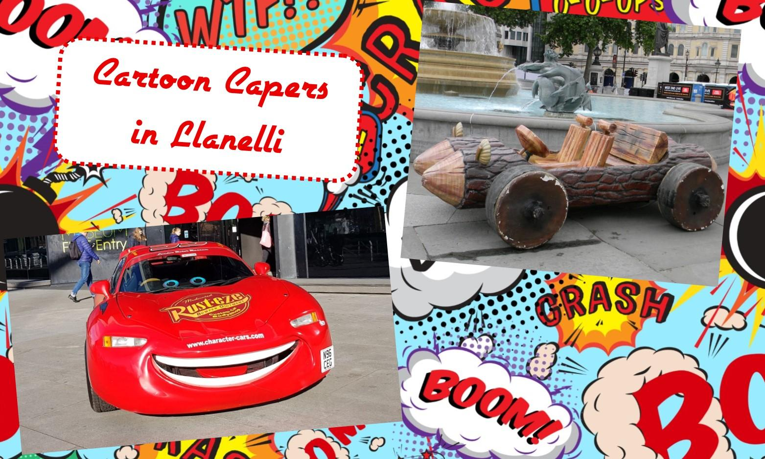 Cartoon Capers in Llanelli