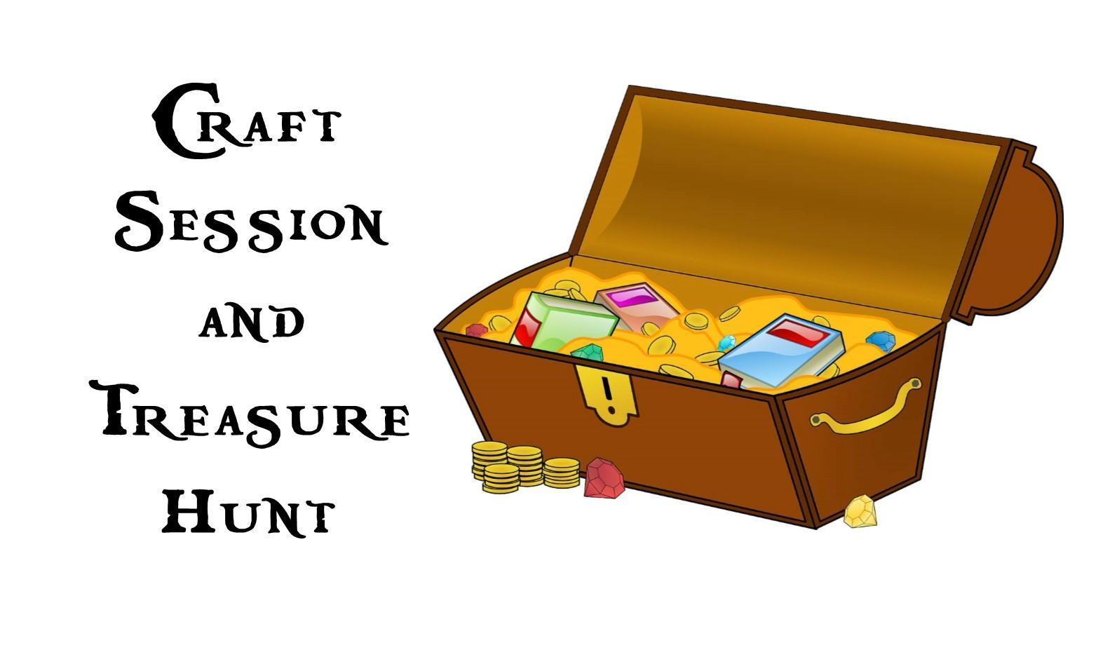 Craft Session and Treasure Hunt at Carmarthen Library