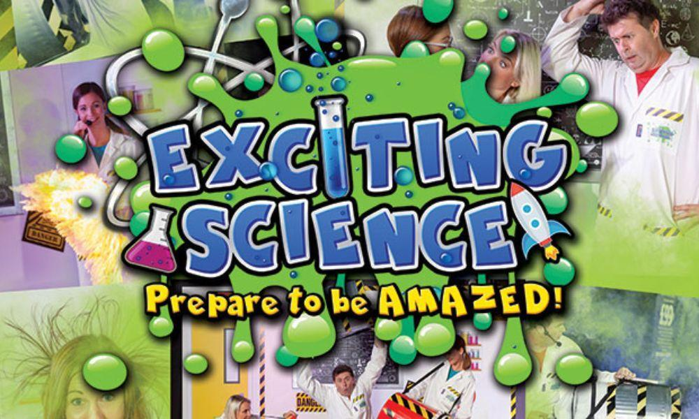 Exciting Science at Miners Ammanford