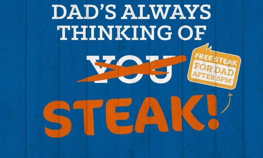 Free Steak for Dad at Beefeater Swansea
