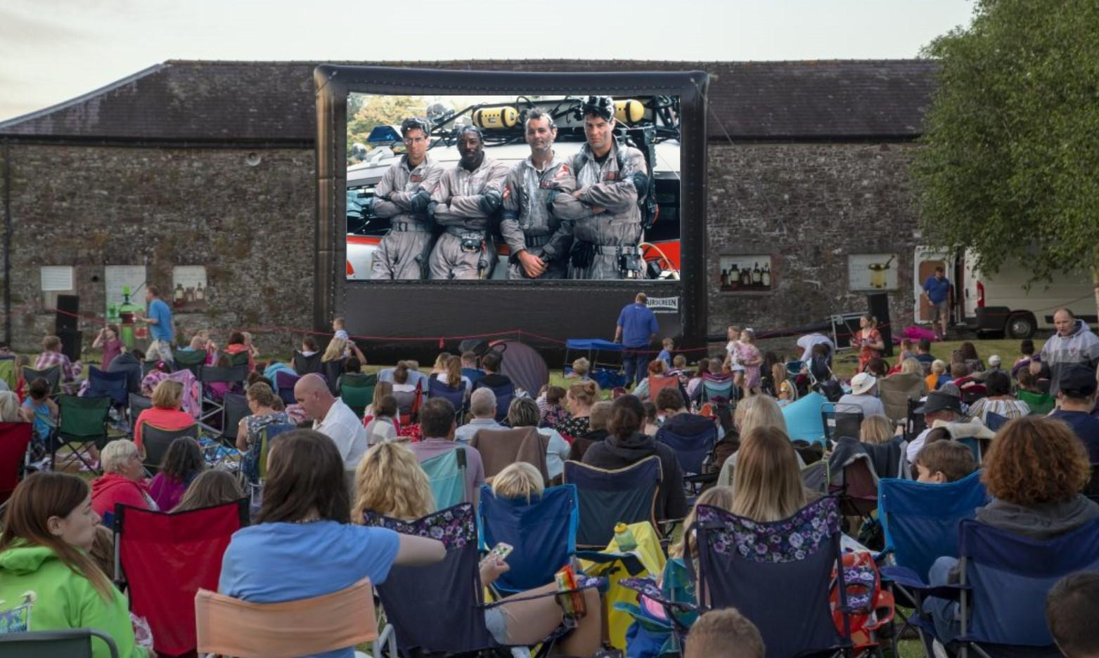 Ghostbusters Halloween Cinema Spooktacular and BBQ