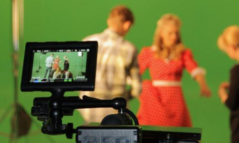 Green Screen Experience at Ammanford Library