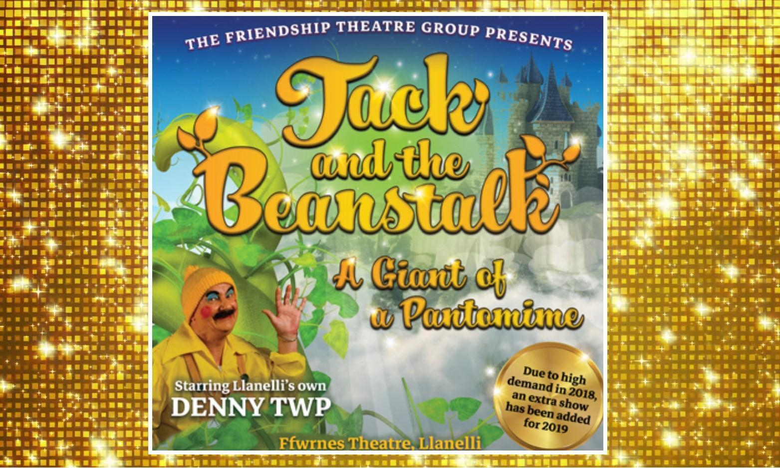 Jack and the Beanstalk Pantomime at Ffwrnes Llanelli