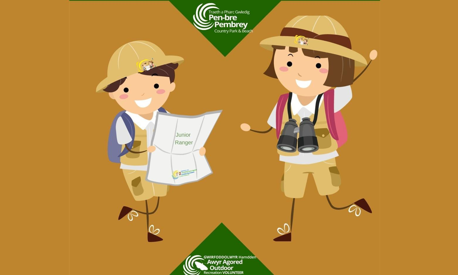February Junior Ranger Club at Pembrey Park