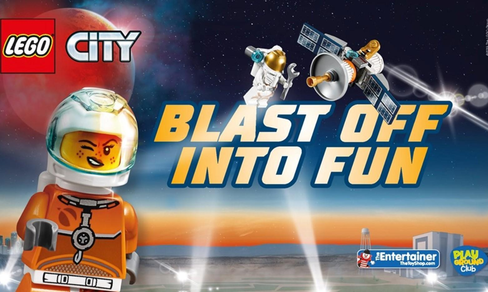 LEGO City Space Make and Take at The Entertainer Port Talbot