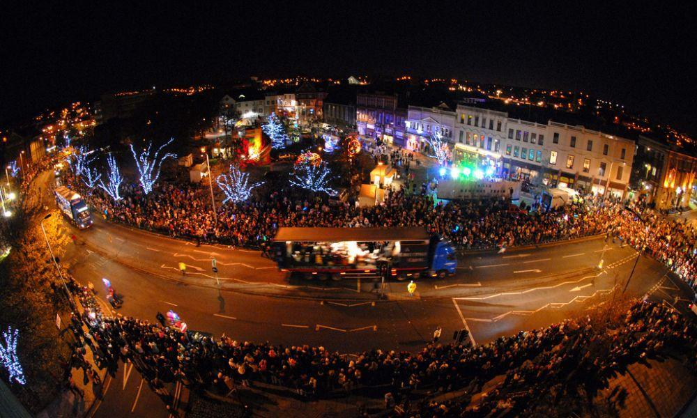 Llanelli Christmas Carnival and Lights Switch On