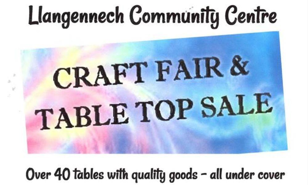 Llangennech Community Craft Fair and Table Top Sale