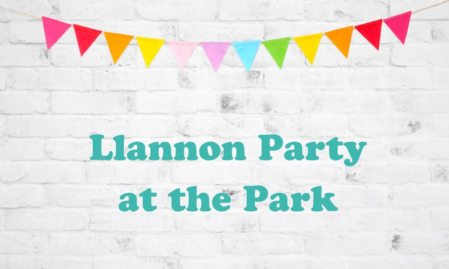 Llannon Party at the Park