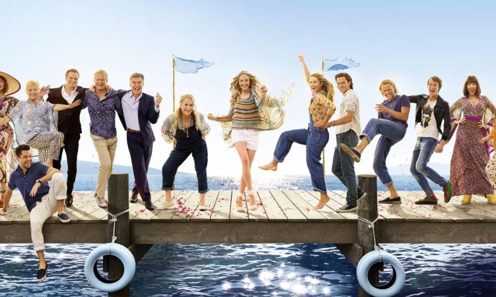 Mamma Mia Here We Go Again Free Film Show at Ammanford Library