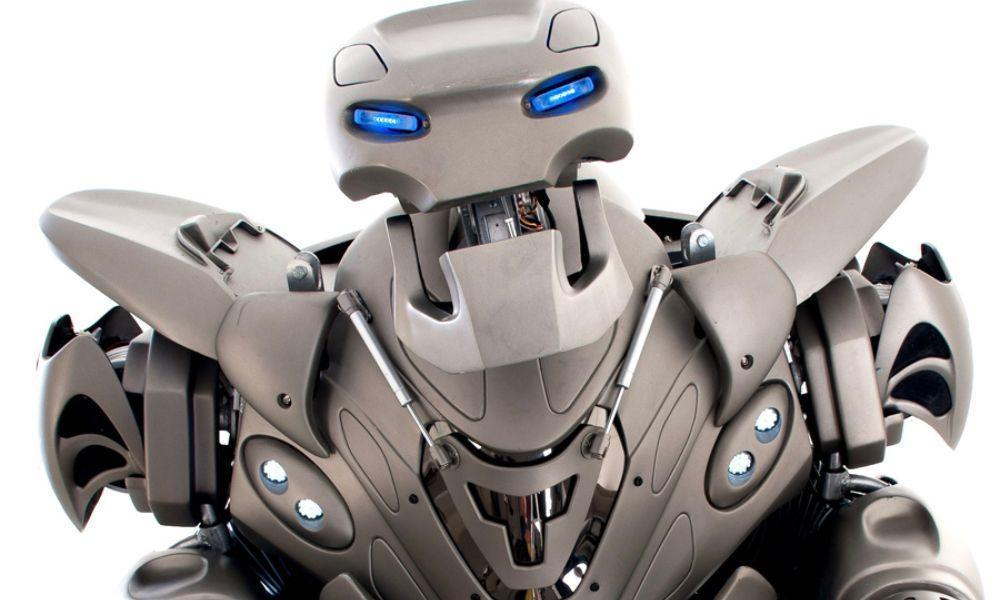 Meet Titan the Robot in Carmarthen