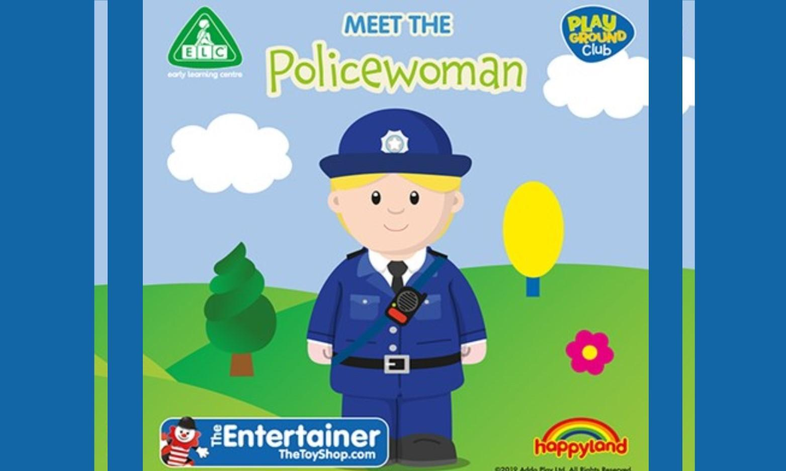 Meet the Policewoman at The Entertainer Carmarthen