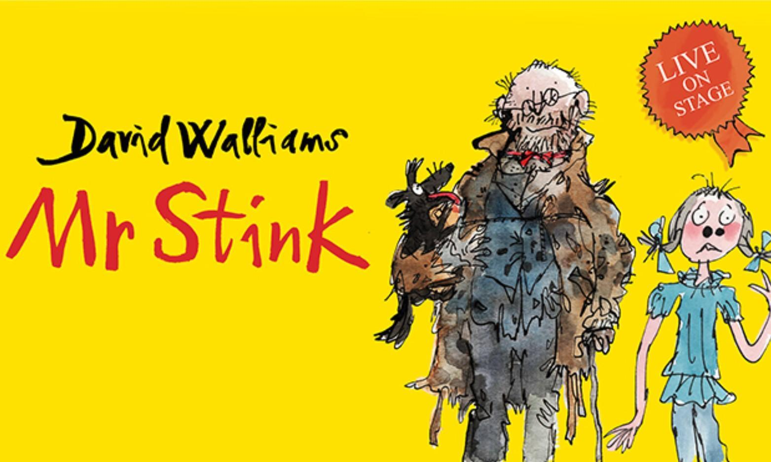WIN a Family Ticket to Mr Stink Live Stage Show