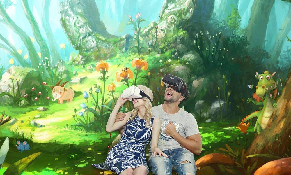 PS4 VR Experience at Ammanford Library