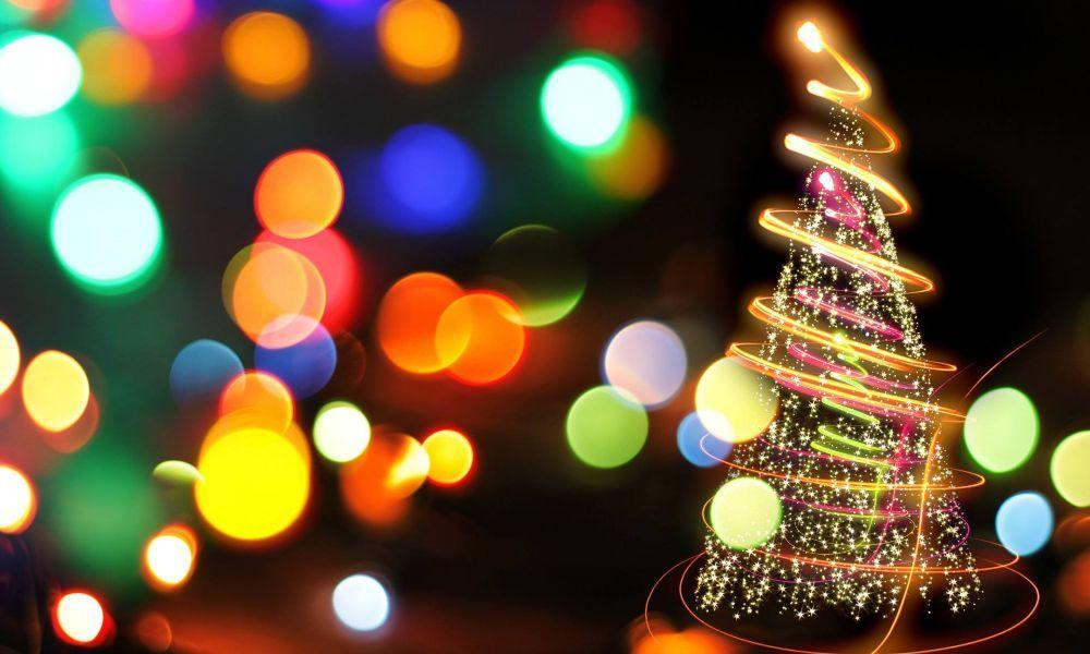 Ponthenri Christmas Tree Lights Switch on
