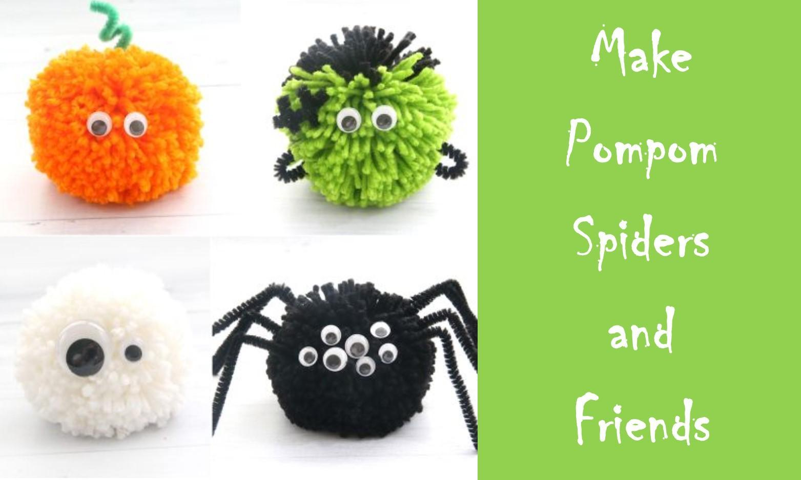 Scrappy Sheep Club - Pompom Spiders and Friends