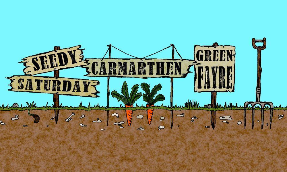 Seedy Saturday Carmarthen Green Fayre