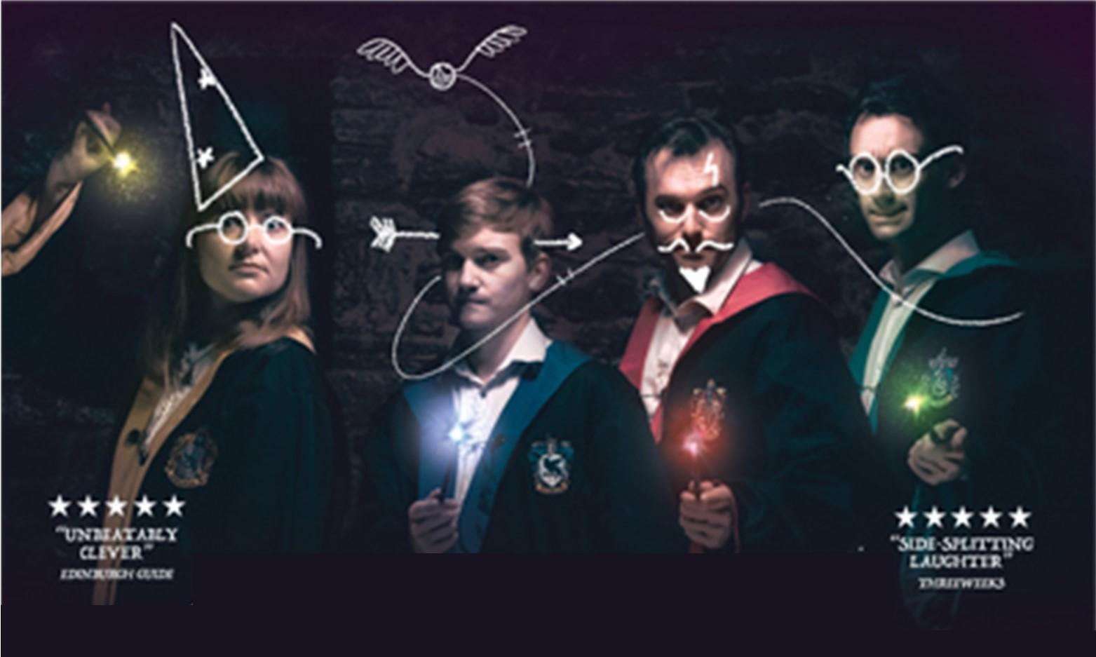 Spontaneous Potter for Kids at Ffwrnes Theatre