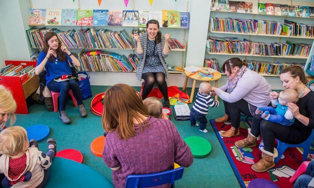 Story, Crafts and Song at Newcastle Emlyn Library