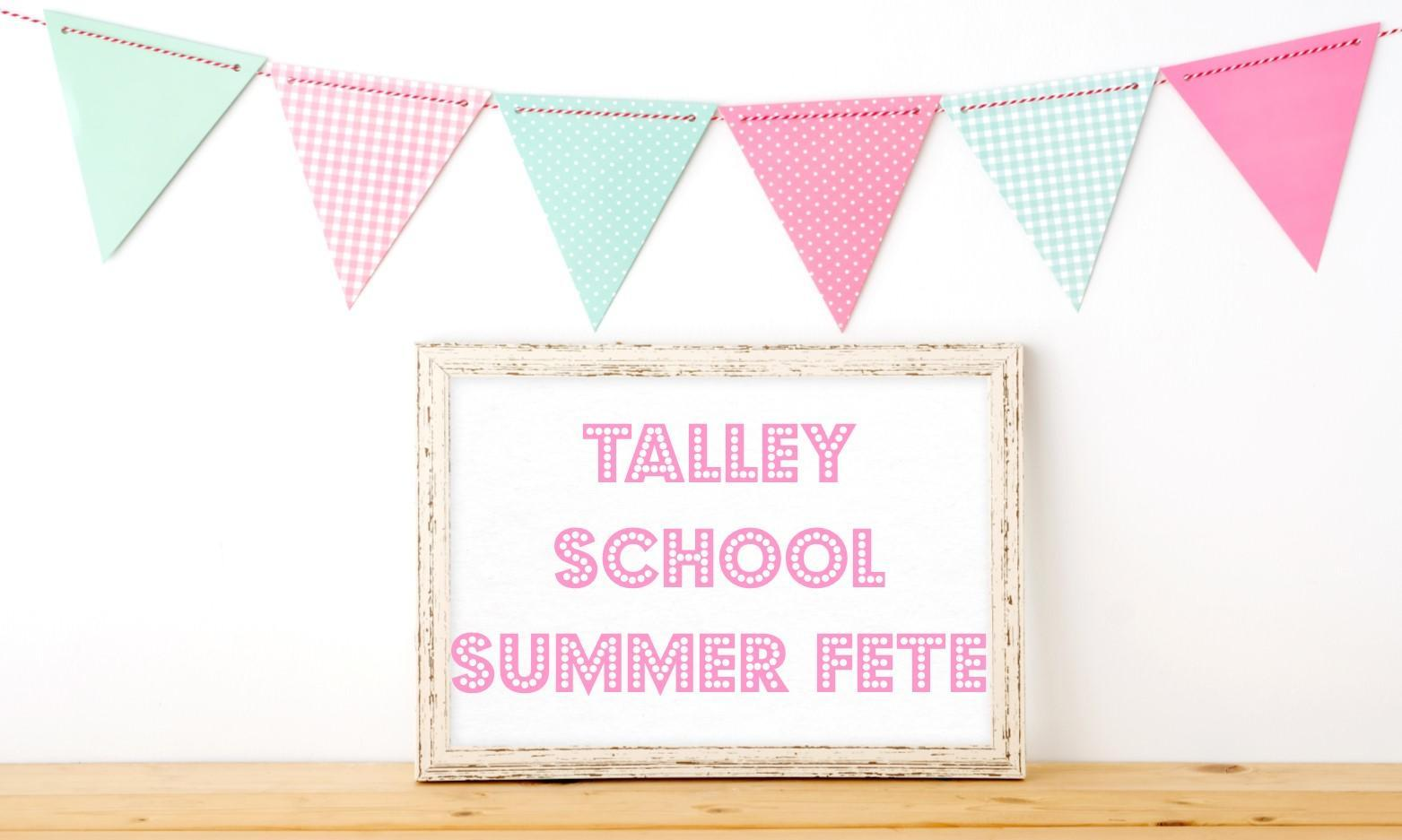 Talley School Summer Fun Day