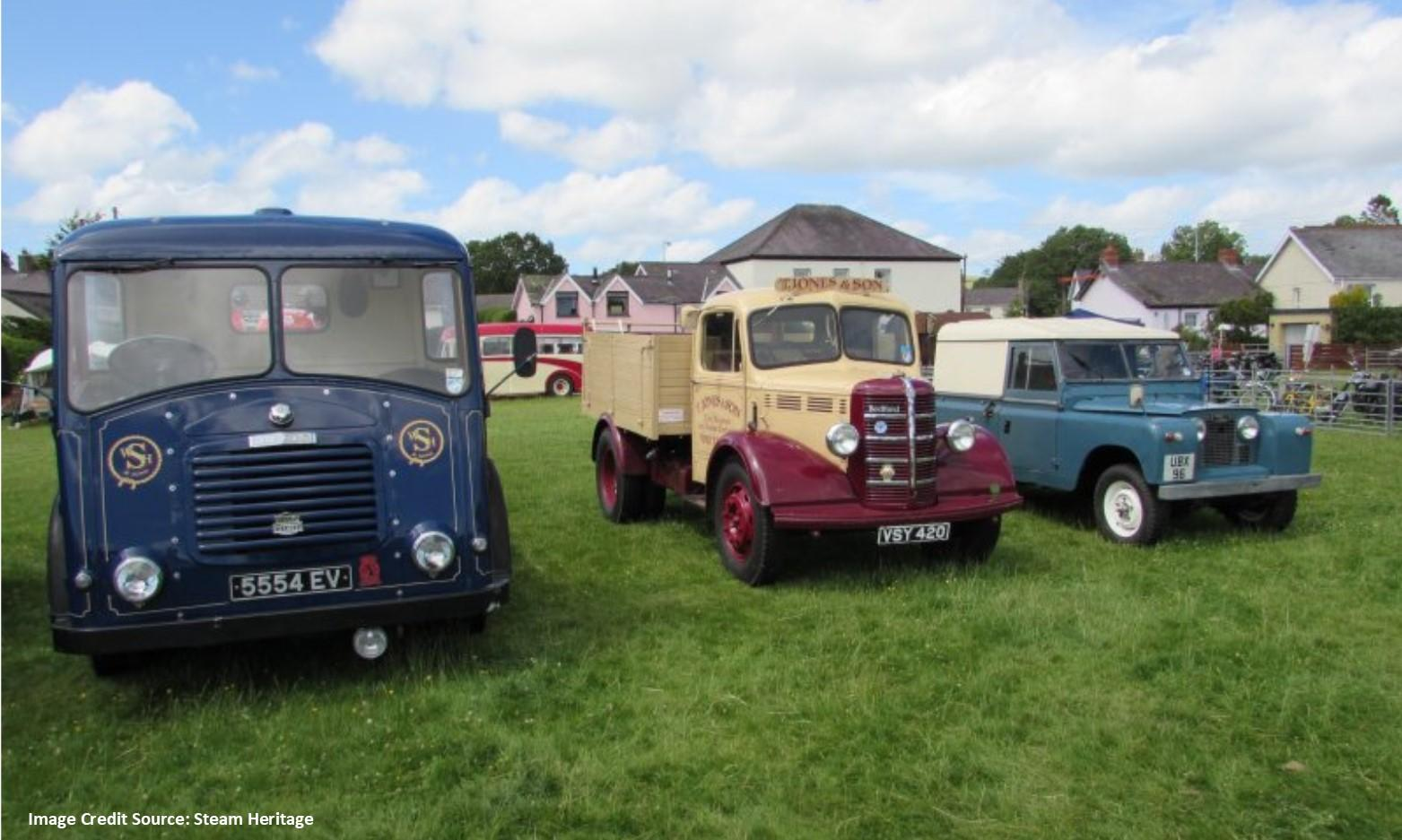 Towy Valley Vintage Club Vintage Show