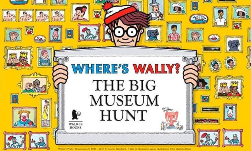 Where's Wally? The Big Museum Hunt in Llanelli