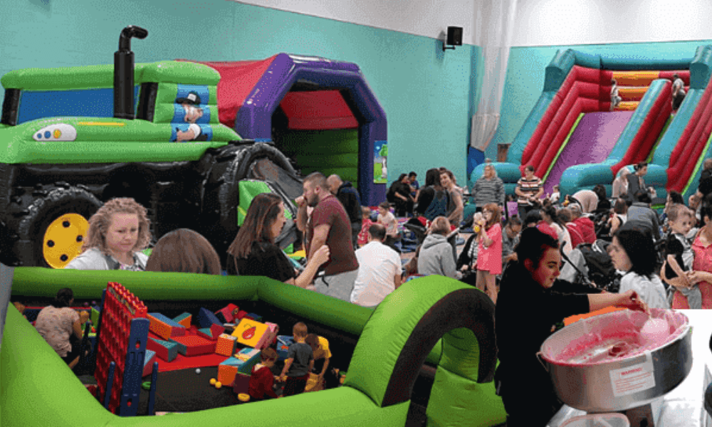 Inflatable Fun Day in Llandysul