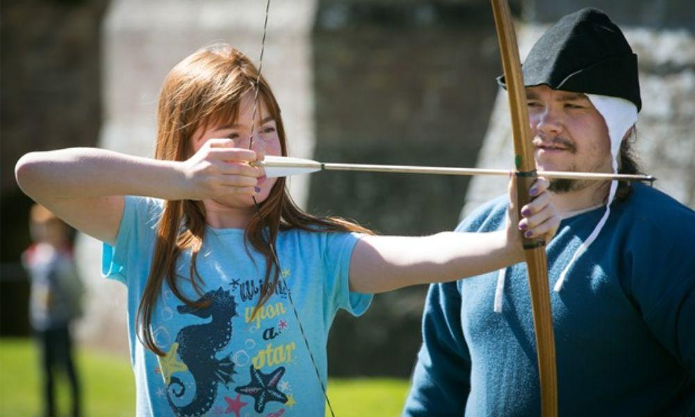 Meet the Pilgrims at Strata Florida Abbey