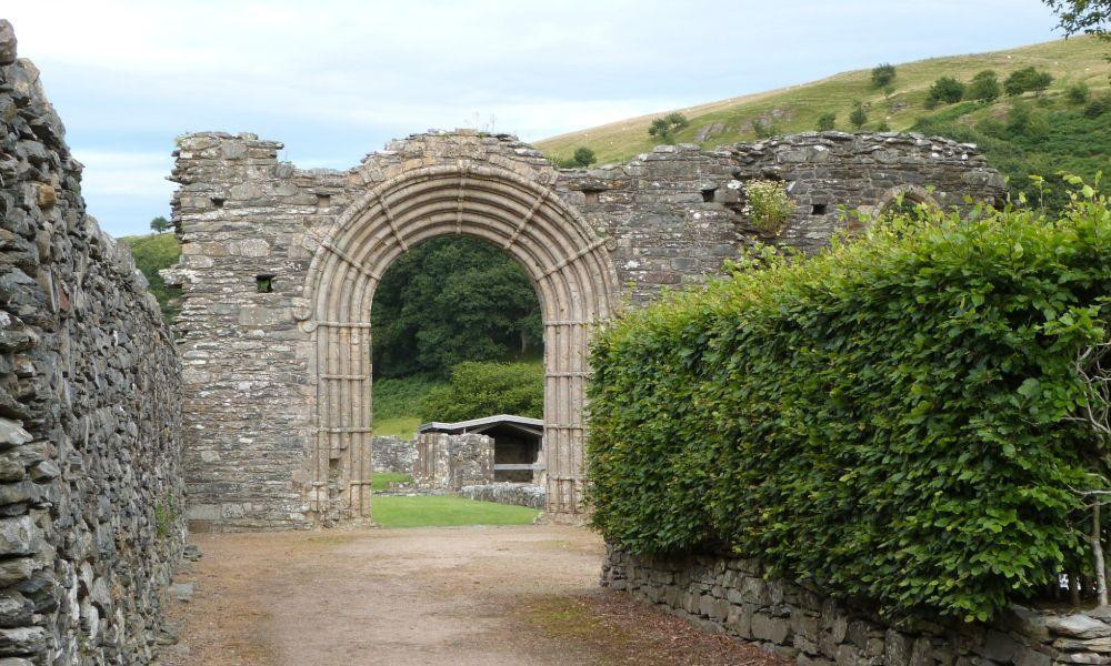 Open Doors at Strata Florida Abbey