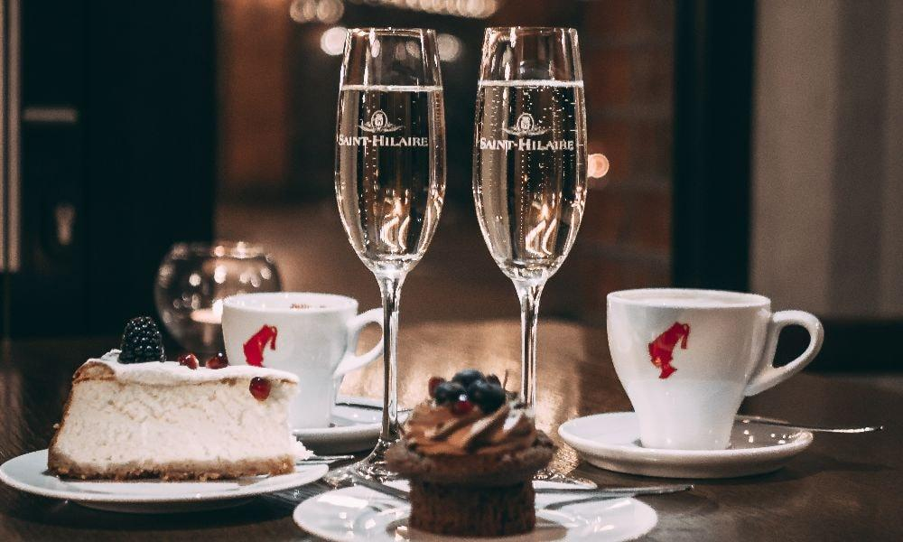 Posh Mother's Day Prosecco Afternoon Tea