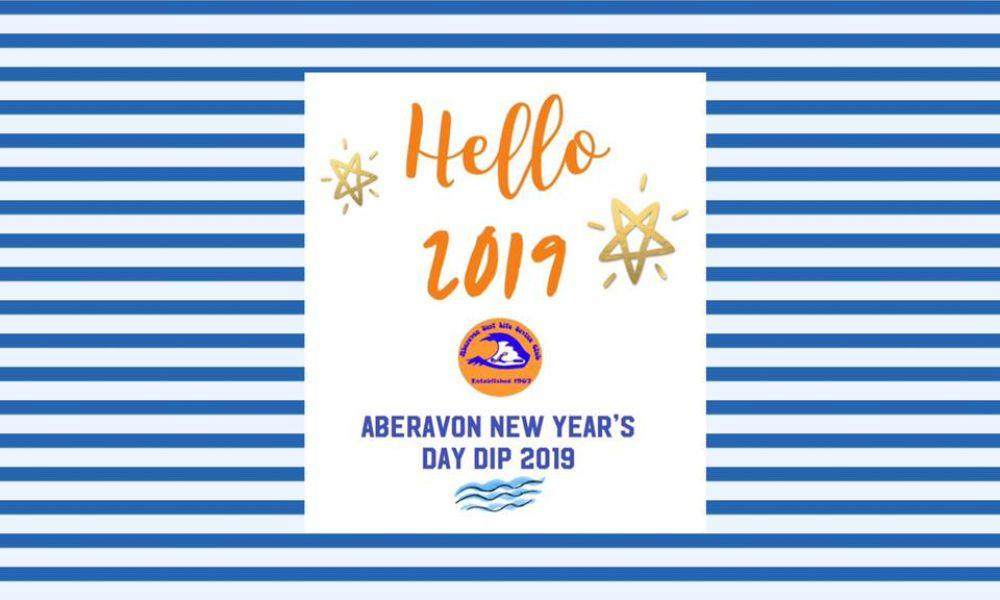 Aberavon Beach New Year's Day Dip 2019