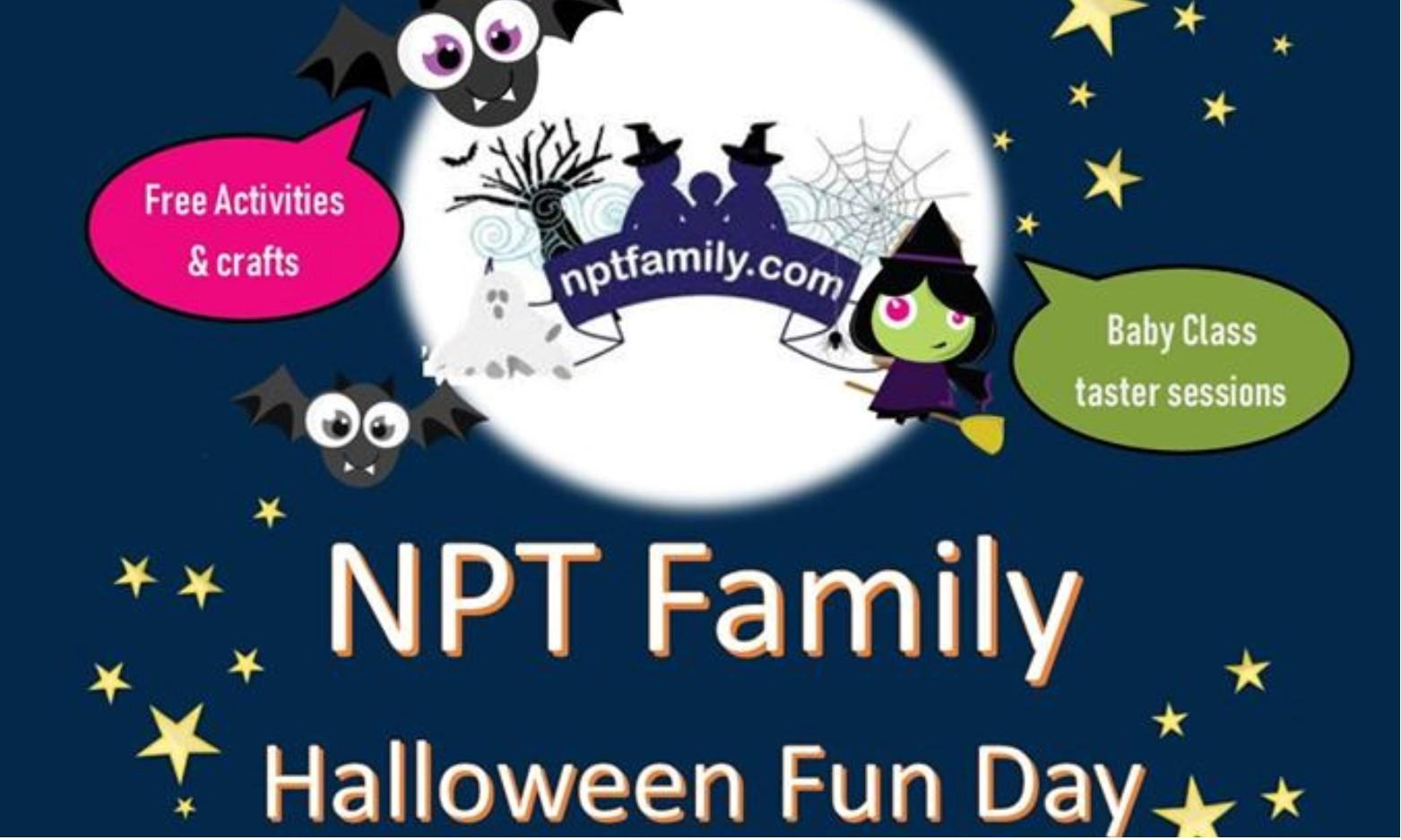 Free NPT Family Halloween Fun Day